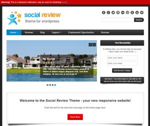 social review theme