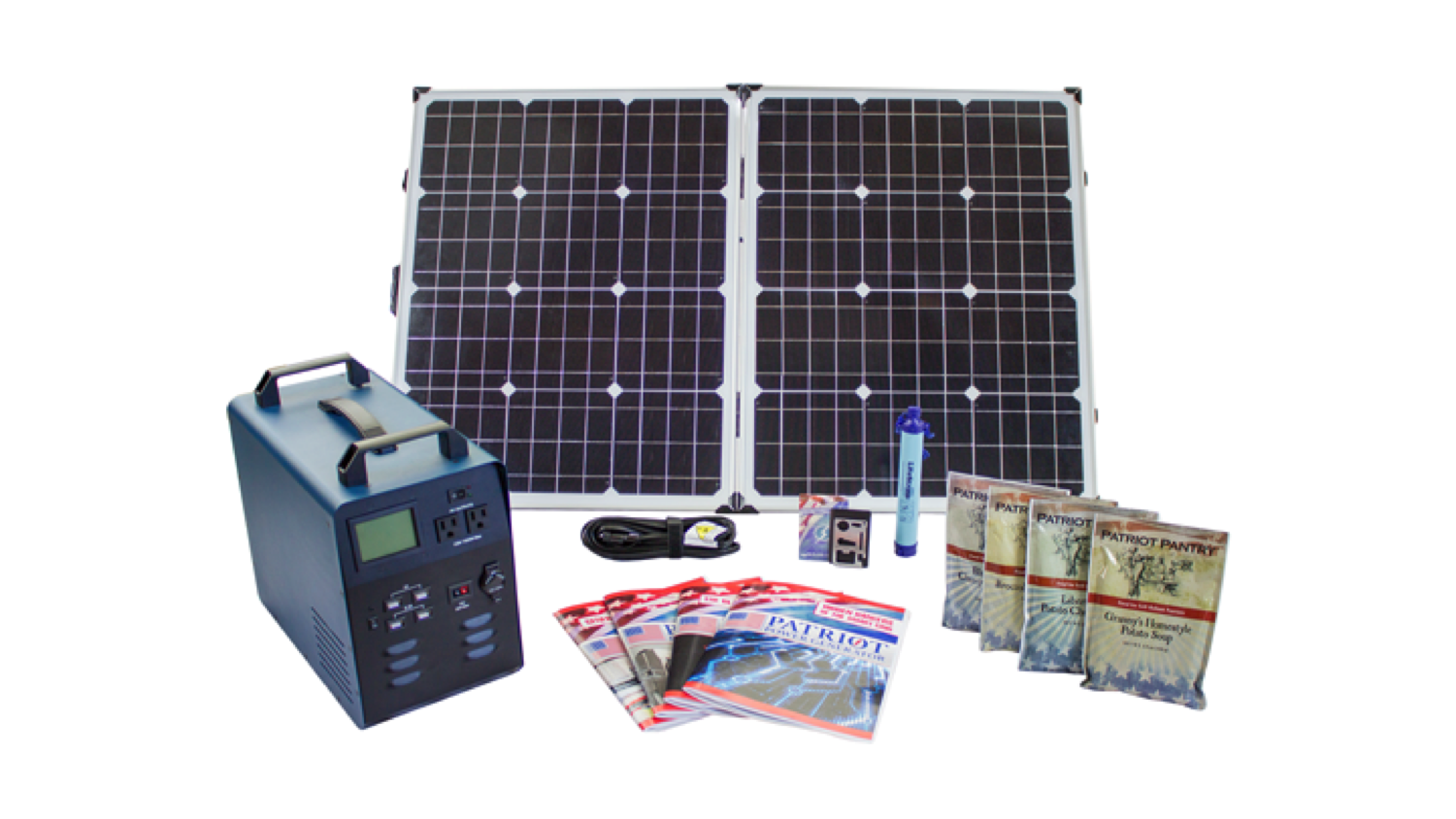 Patriot power Generator Basic Package - World's Best Solar Generator